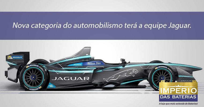 Nova categoria do automobilismo terá a equipe Jaguar