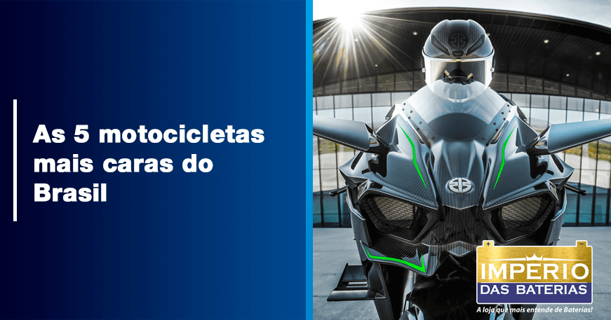 As 5 motocicletas mais caras do Brasil