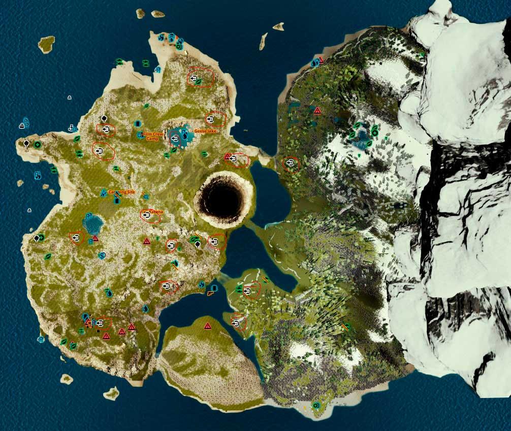 Карта мен компасқа апаратын жол.
