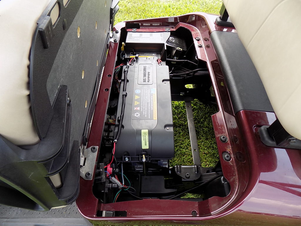 2020 Ezgo Rxv Elite Lithium Burgundy Indian River Golf Cars