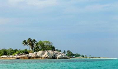 A Unique Tourist Spot in Belitung - Babi (Pig) Island