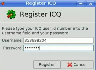 کاربران در ICQ