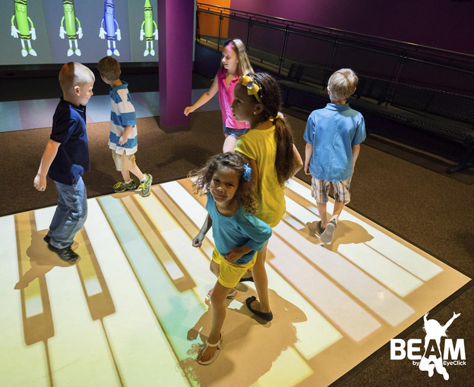 Creating Wonderful Interactive Experience for Kids with Beam     Creating Wonderful Interactive Experience for Kids with Beam Interactive  Floor Game System