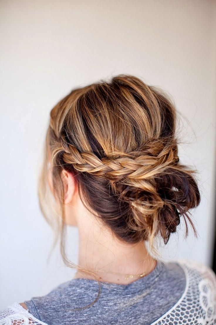 Cute Casual Updos Medium Length Hair