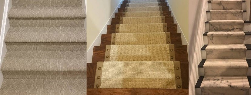 20 Carpeted Stairs Examples To Inspire You   Carpeted Stairs To Wood   Brown Flooring   Wooden   Vinyl Plank   Middle Open Concept   Carpeting