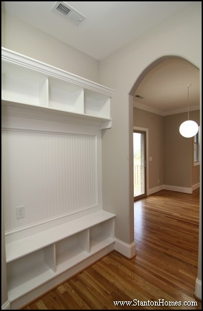 7 Mudroom Drop Zone Ideas Raleigh Custom Home Builder