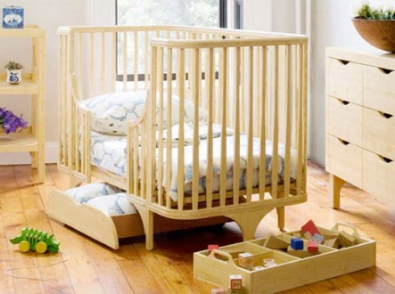 7 Eco Friendly Cribs for Green Babies   Inhabitots green baby  eco baby  crib  green crib  eco crib  eco