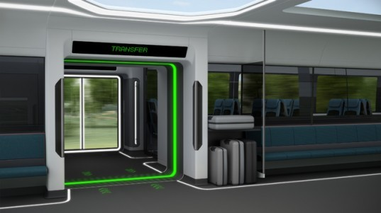 Moving Platforms Could Let Travelers Change Trains While