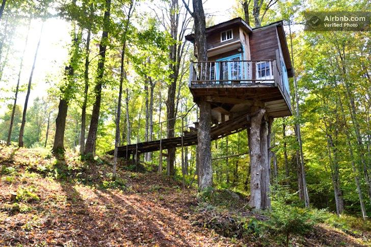 Treehouse Rental Vermont