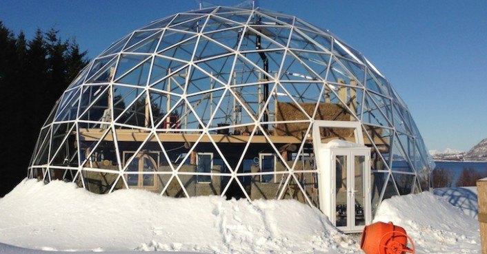 Solar Geodesic Dome Nature House 171 Inhabitat Green