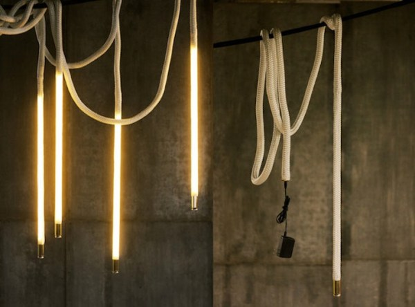 pendant lighting with rope # 56