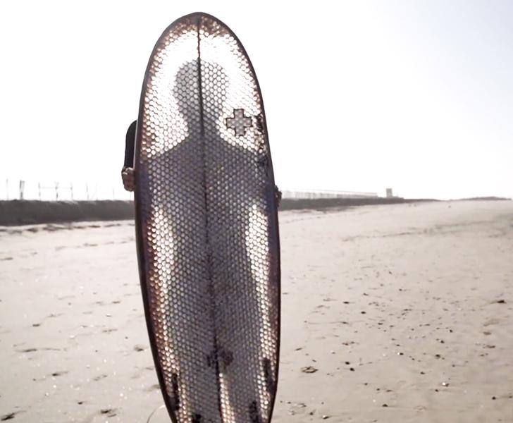 Super Durable Cardboard Surfboard Won T Disintegrate While