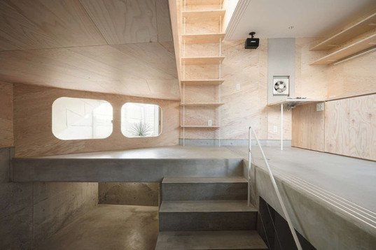 Tsubomi House By Flathouse Is A Multi Level Tiny Home Atop
