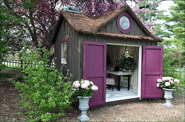 Building Backyard Shed