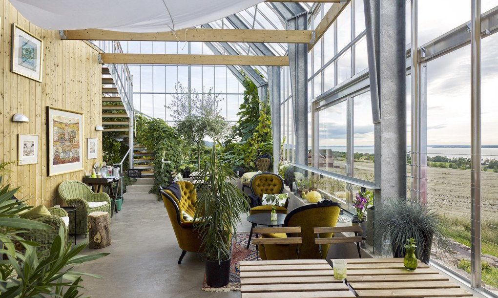 Sweden S House In A Greenhouse Grows Food Sustainably With