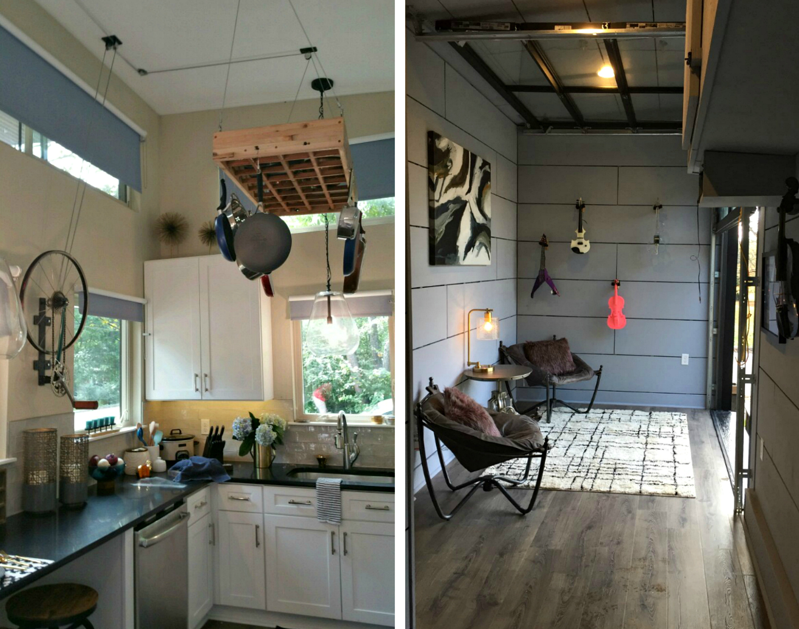Amplified Tiny House Lets Musician Homeowner Rock Out In