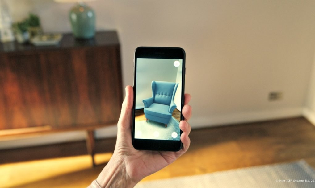 IKEA's New Augmented Reality App Could Totally Change The - IKEA Outside Furniture