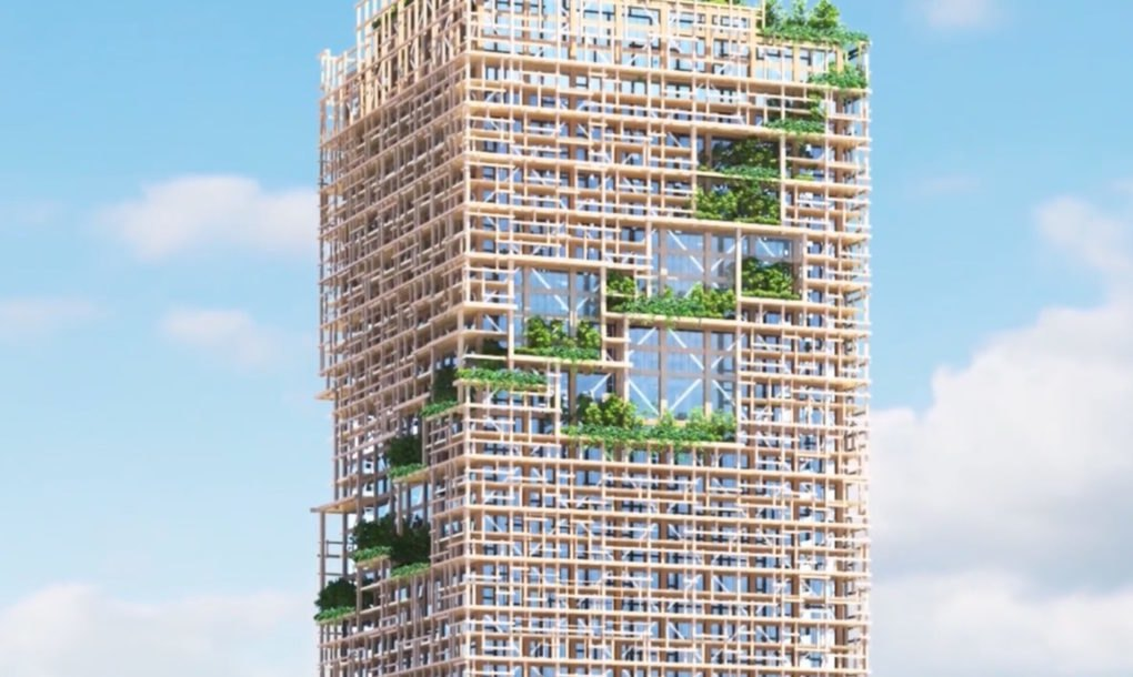 Japanese Builder Unveils Plans For World S Tallest Timber