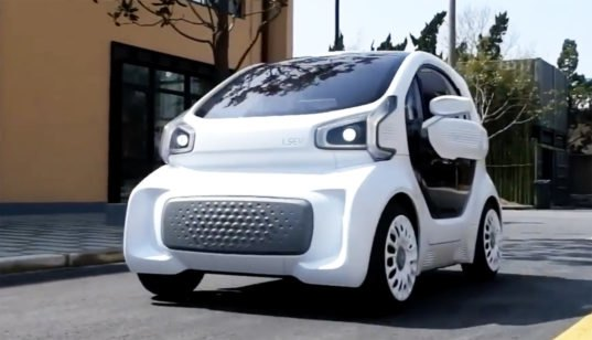World S First Mass Producible 3d Printed Electric Car Will
