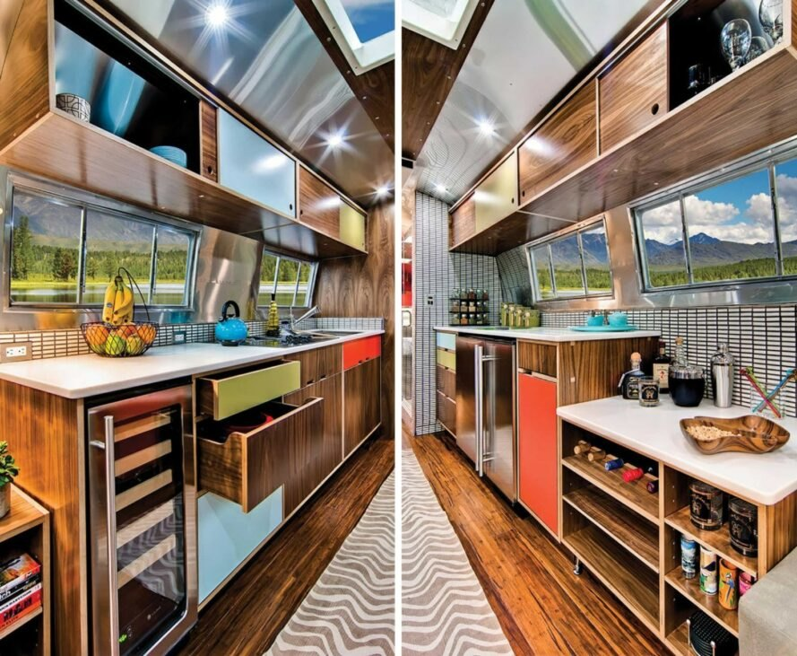 A Rare 1962 Airstream Is A Marvelous Home With A Whimsical
