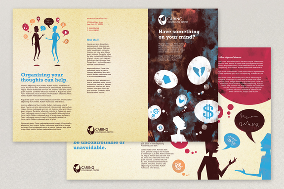 images for counseling brochure template