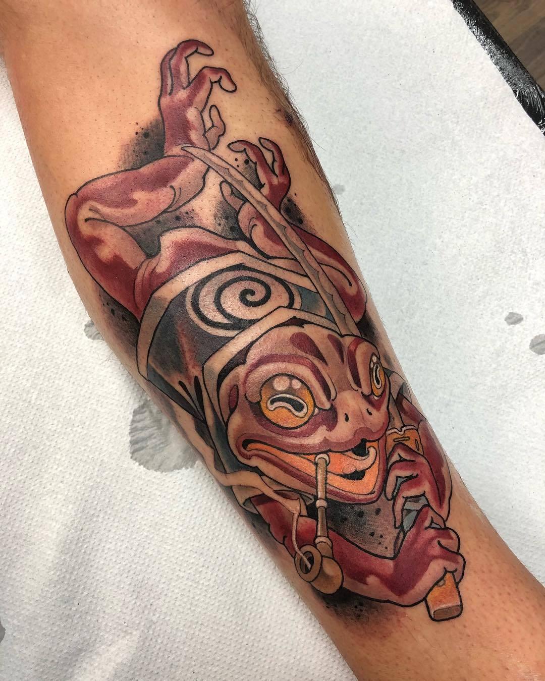 Mosh Tattoo