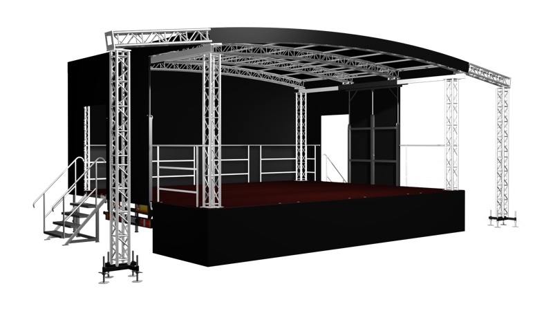 Outdoor Stages Mobile Stages Staging Hire Festival