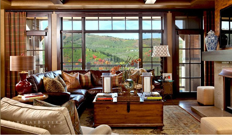 Mountain Interior Design Trends for 2013   Park City Real Estate     Barclay Butera Interiors has furnished some of the most high end and  amazing homes in Park City  including several condominiums and the lobby at  Flagstaff