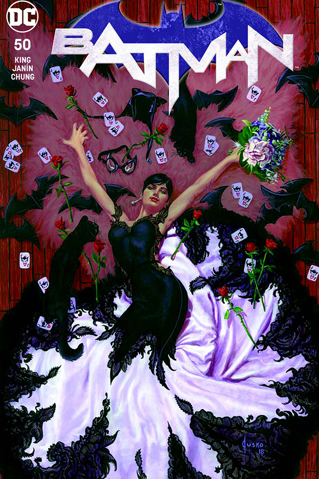 Batman #50 Variant Covers To Top 100 For DC Comics Wedding ...