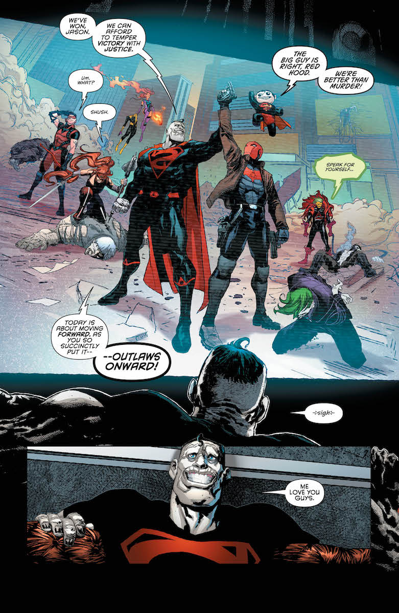 Dc Comics Universe Amp Red Hood Amp The Outlaws 24 Spoilers