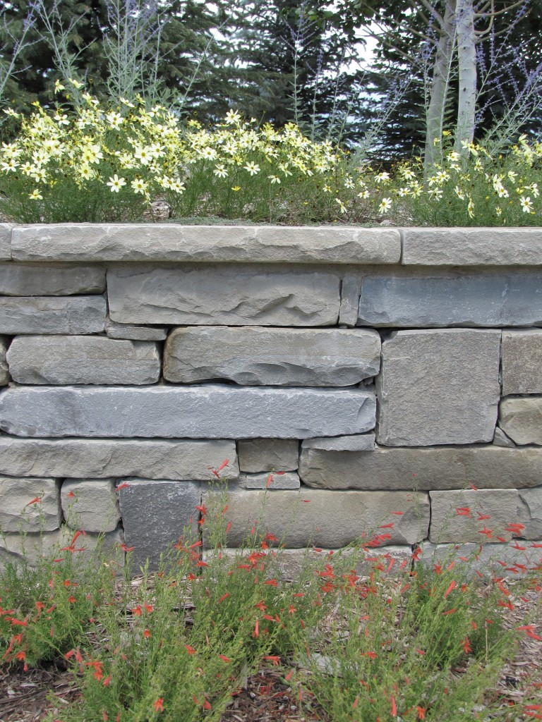 Stone Walls And Steps Insite Landscape