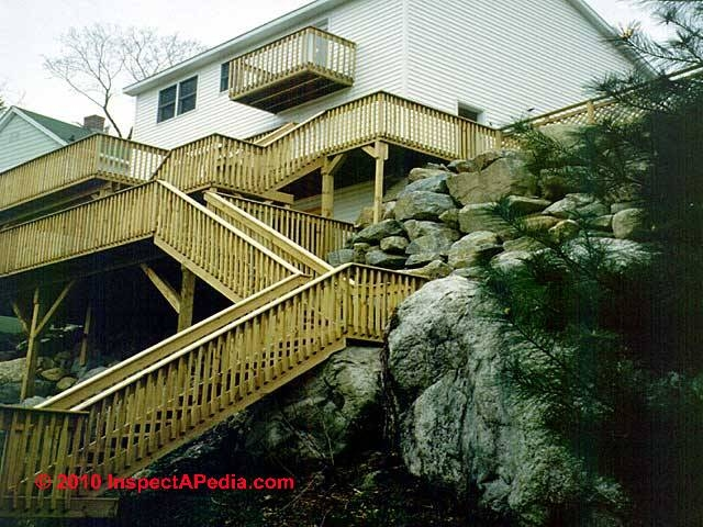 Stair Railing Stair Guardrail Construction Installation Guide | Installing Deck Stair Railing | Outdoor Stair | Baluster | Railing Ideas | Stair Treads | Stair Stringers