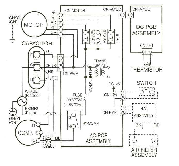 air conditioner schematic wiring diagram schematic diagrams air conditioner block wiring diagram ac split new split system air conditioner wiring split unit air conditioner wiring diagram air conditioner schematic wiring diagram