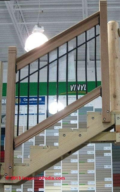Metal Baluster Installation Procedure | Outdoor Stair Railing Menards