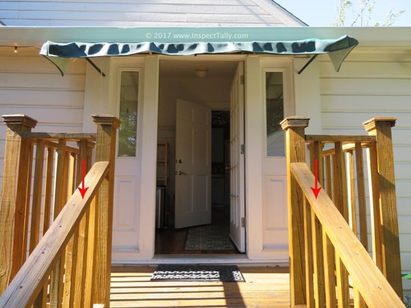 Nongraspable Deck Handrails Tallahassee Real Estate Inspections | Graspable Handrail For Deck Stairs | Simple | Made 2X4 | 2 Foot | Code Compliant | Tall