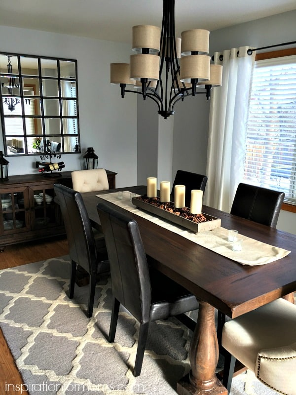 Dining Room Makeover Before And After Inspiration For Moms