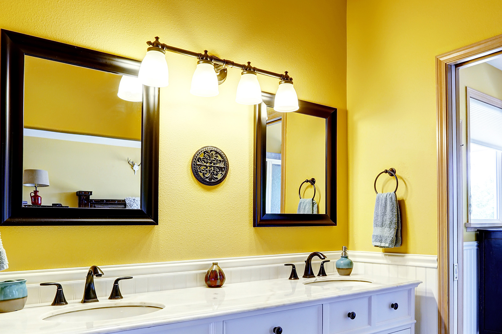 Yellow And Grey Bathroom Ideas