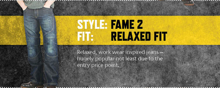 The Held 6367 Fame II Kevlar Jeans