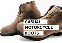 Casual Motorcycle Shoes