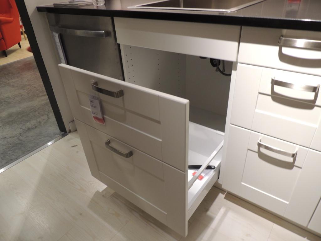 Best Kitchen Gallery: How Ikea Trash Bin Cabi S Affect Your Kitchen Design of Ikea Kitchen Sink Cabinet Installation on rachelxblog.com