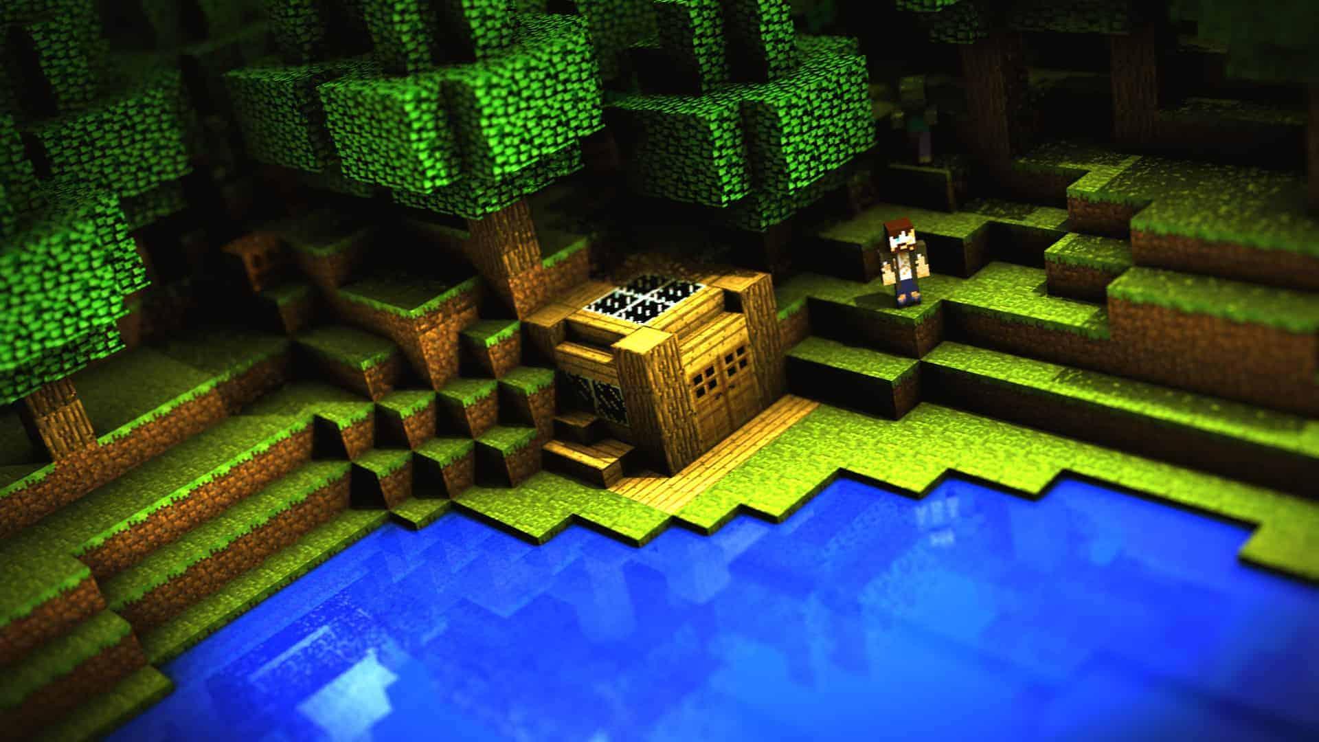 Minecraft Pvp Background