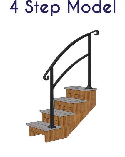 Instantrail – The Original Instantly Adjustable Handrail | Aluminum Railings For Steps | Verandah | Glass Railing | Pipe | Indoor | Glass Panel Wooden Handrail