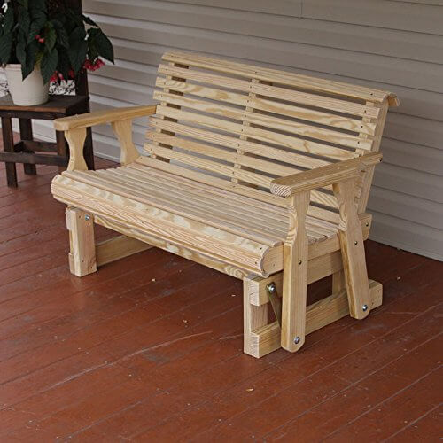 Wooden Duty Heavy Glider Porch