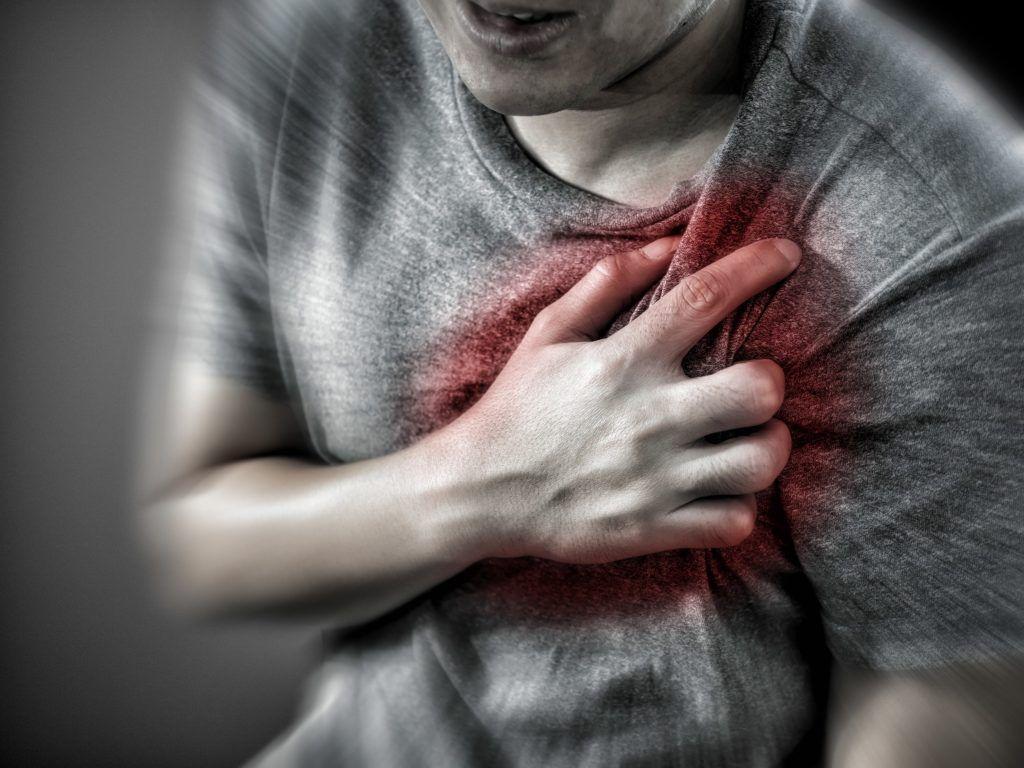 Аритмиядағы кеудедегі ауырсыну