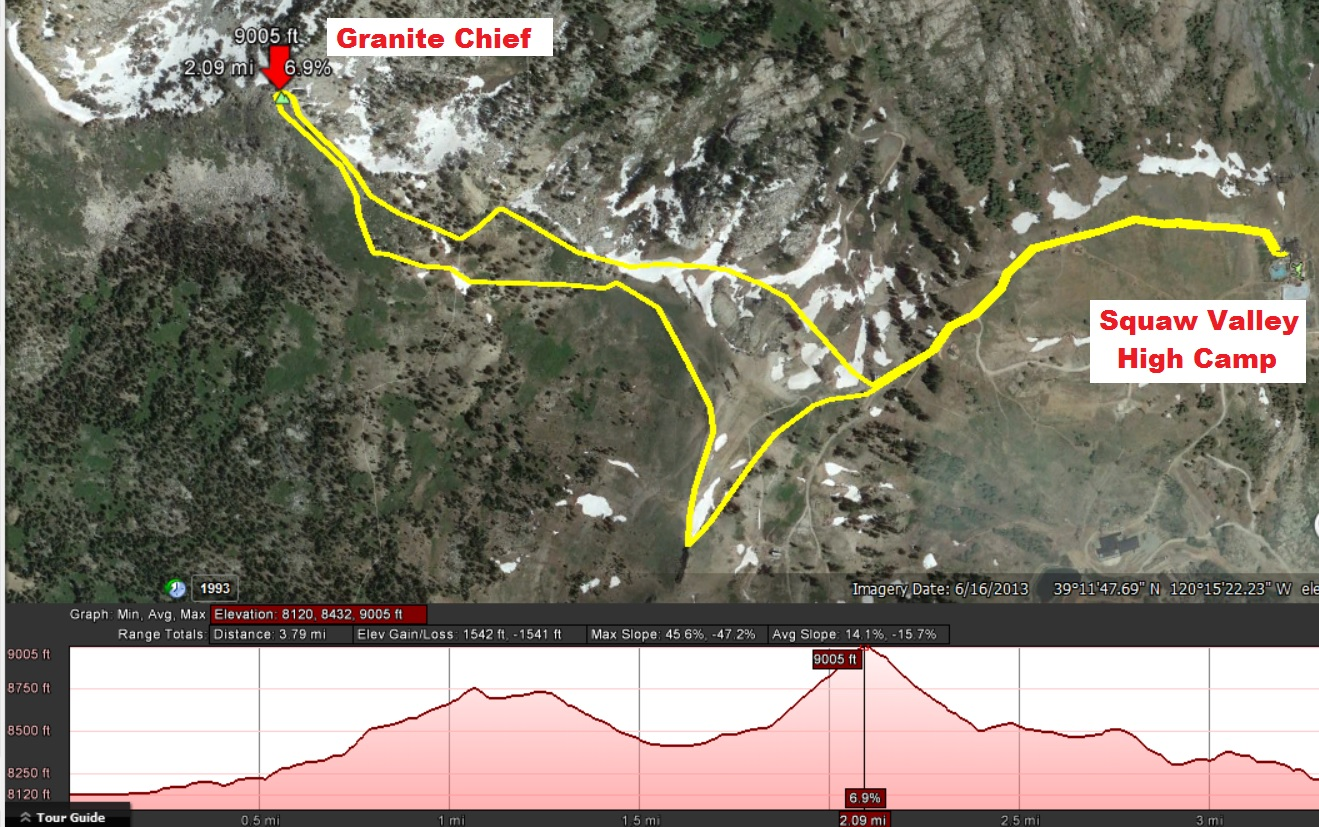 100 Mile Wilderness Elevation Map