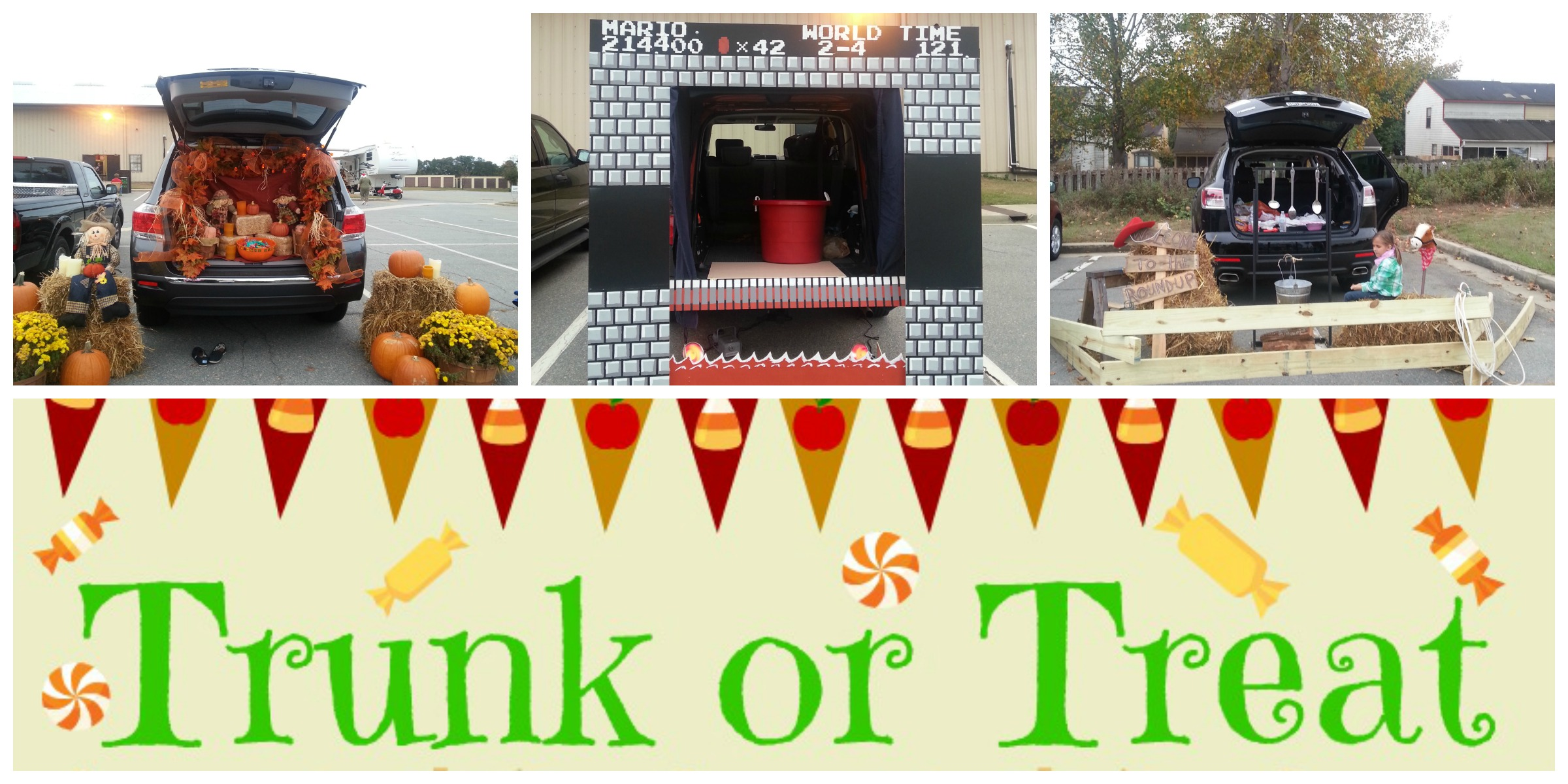 Christian Trunk Treat Or Decorating Ideas