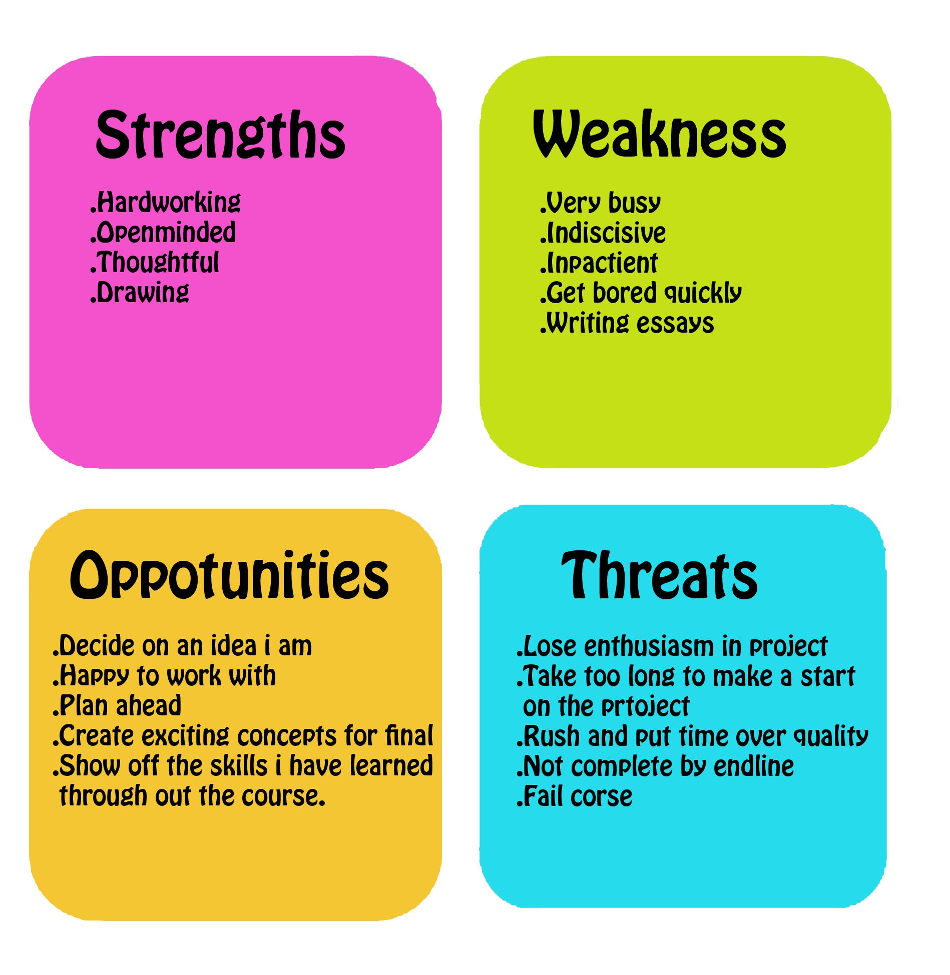 learning to swot it out swot analysis