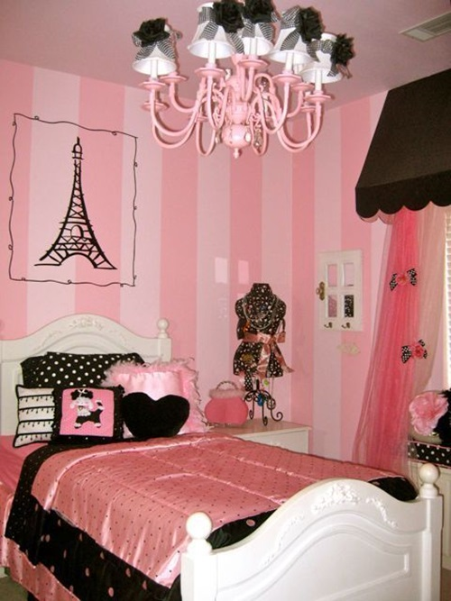 Make Your Teenage Daughter S Room Paris Chic With 7 Simple