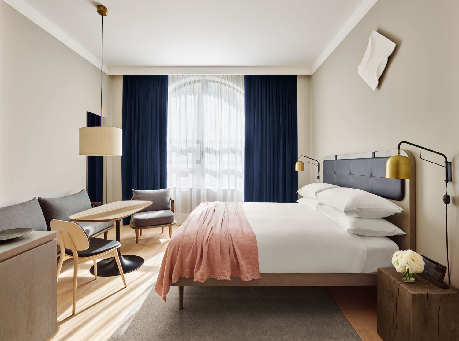 The basics of a good hotel room design   Interior Design Explained Double hotel room design