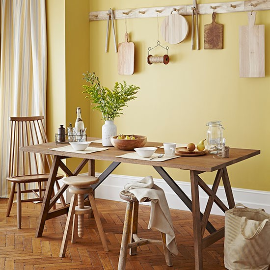 Yellow Dining Room Decorating Ideas